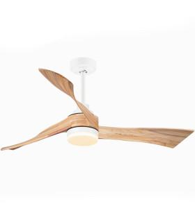 Quạt trần 3 cánh gỗ KATE 52 LED