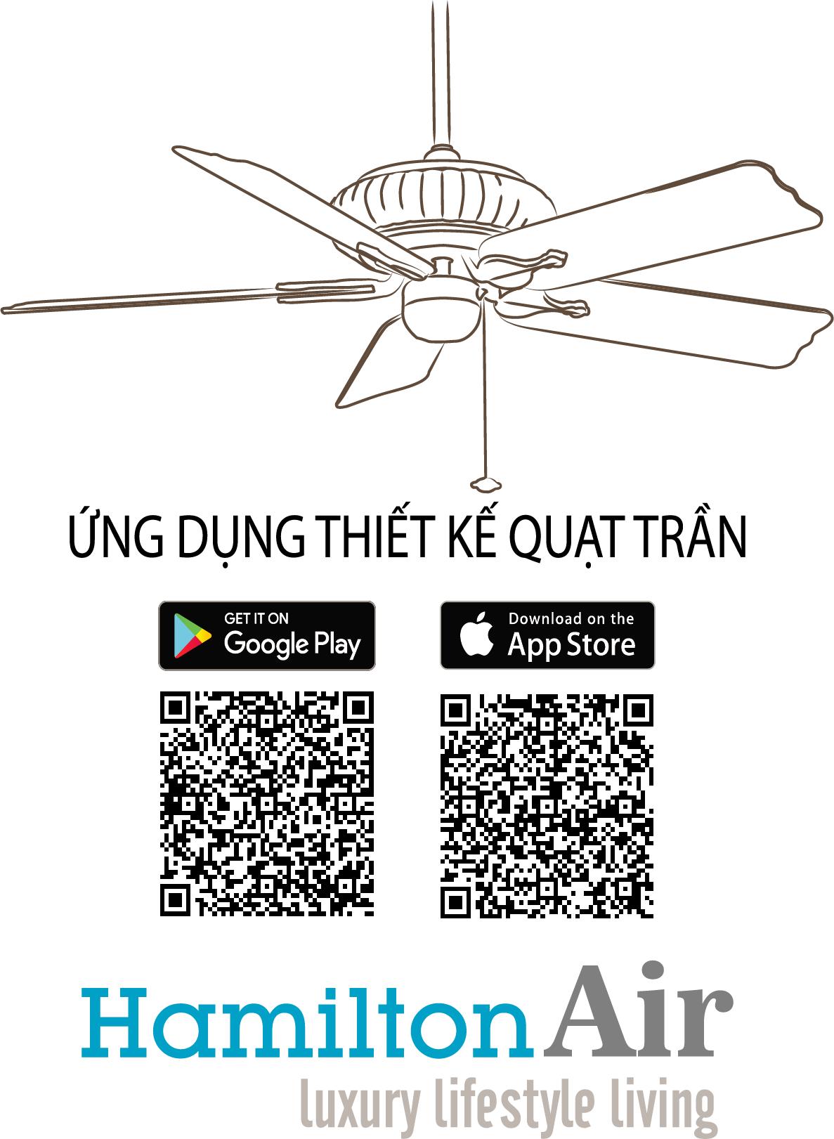 thiết kế Ceiling Fan app