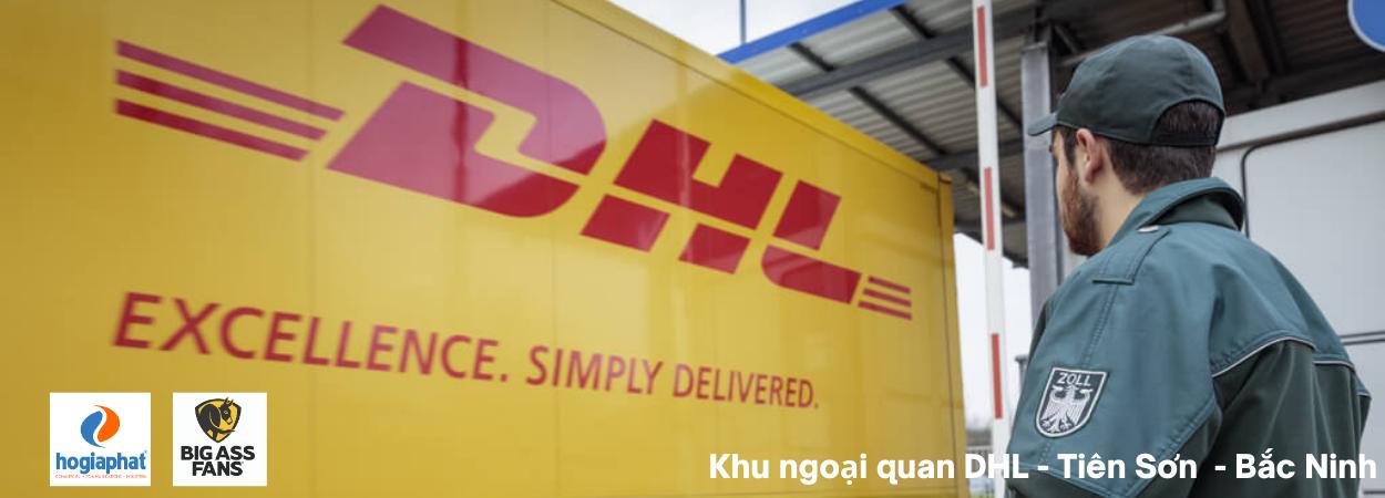 Kho ngoại quan DHL ở Tiên Sơn - Bắc Ninh