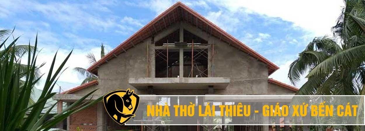Nhà thờ giáo xứ Lái Thiêu - Bình Dương lắp đặt quạt Essence