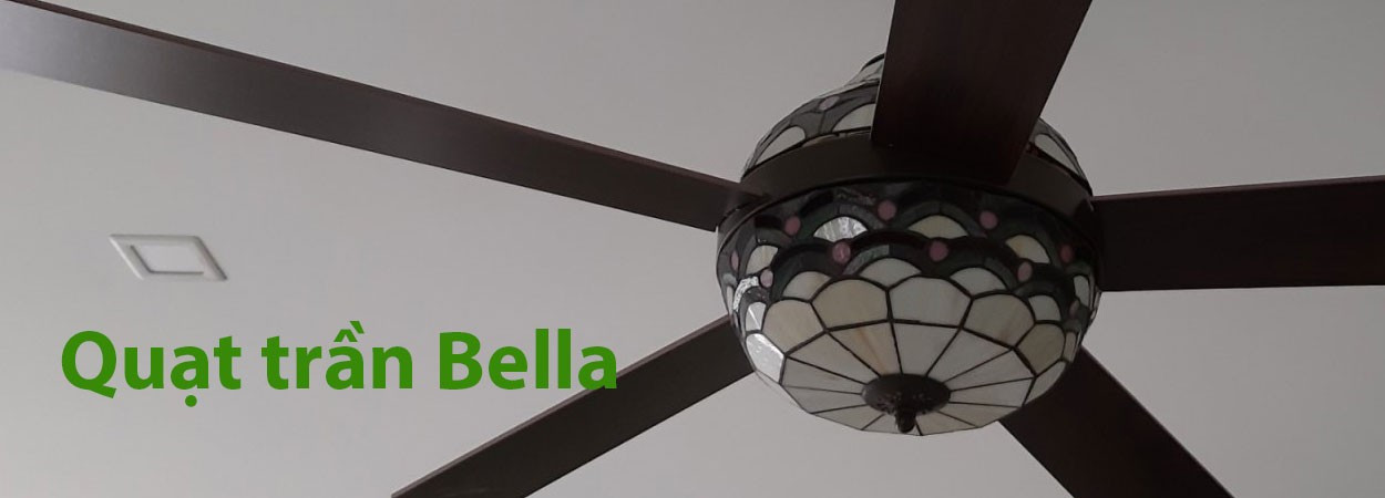 Lắp đặt quạt trần kiểu dáng cổ điển Bella Mountain Air 563050